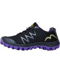 More Mile Womens Cheviot 3 Trail Running Shoe Black/Purple