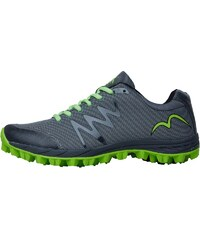 More Mile Mens Cheviot 3 Trail Running Shoe Grey/Lime/Black