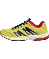 More Mile Mens London Pro Strike Neutral Running Shoe Yellow/Black/Red