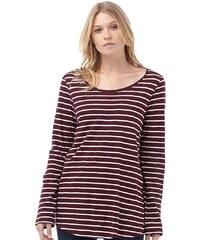 Weird Fish Damen Fairfax Slub Wine T-Shirt Rot