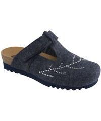 Scholl Dámské pantofle Fotinia Bioprint Navy Blue F263111040