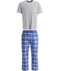 Pier One SET Pyjama grey/blue