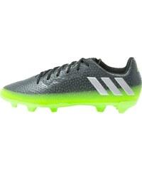 adidas Performance 16.3 FG Chaussures de foot à crampons dark grey/silver metallic/solar green