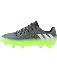 adidas Performance 16.1 FG Chaussures de foot à crampons dark grey/silver metallic/solar green