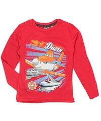 E plus M Chlapecké tričko Letadla - červené