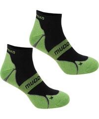 Ponožky Muddyfox Cycle 2 Pack dět. černá/zelená