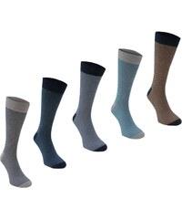Ponožky Soviet Thin Stripe pán. multi
