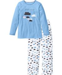 bpc bonprix collection Pyjama en polaire bleu manches longues lingerie - bonprix