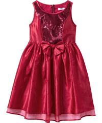 bpc bonprix collection Robe de fête rouge sans manches enfant - bonprix