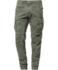 GAS BOB GYM Pantalon cargo dark green
