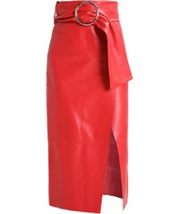 Topshop BOUTIQUE Jupe longue red