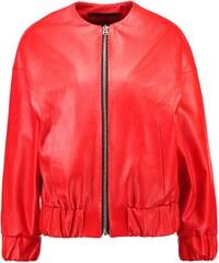 Topshop BOUTIQUE Veste en cuir red