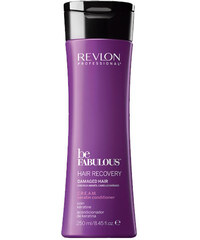Revlon Professional BE FABULOUS Keratin Conditioner For Damaged Hair - kondicionér s keratinem pro poškozené vlasy 250ml