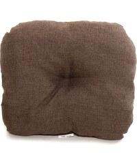 Dadka Zahradní sedák hnědý melír 38x45x10 cm