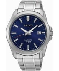 PROMO - Seiko Montre Classic Silver Blue Homme SGEH47P1