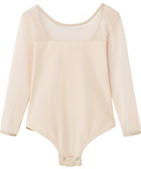 MANGO KIDS Body Empiècement Tulle