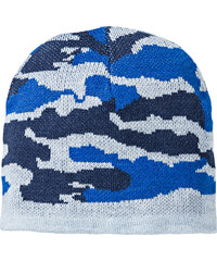 bpc bonprix collection Mütze mit Muster in blau von bonprix