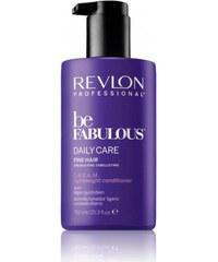 Revlon Professional BE FABULOUS Lightweight Conditioner - kondicionér pro denní péči o jemné vlasy 750ml