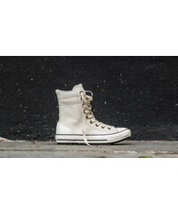 Converse CT AS Hi-Rise Boot Leather+Fur Parchment/ Black/ Egret