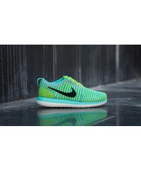 Nike Roshe Two Flyknit (GS) Hyper Turquoise/ Black-Volt-Clear-Jade