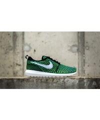 Nike Roshe NM Flyknit Black/ White-Voltage Green-Volt