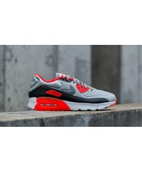 Nike Air Max 90 Ultra SE Pure Platinum/ Cool Grey-Neutral Grey-Bright Crimson