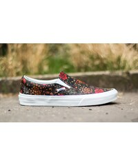 Vans Classic Slip-On (Floral Leather) Multi/ True White