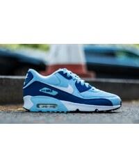 Nike Air Max 90 Mesh (GS) Bluecap/ White-Deep Royal Blue-Black
