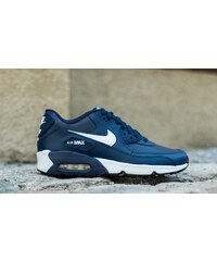 Nike Air Max 90 Leather (GS) Midnight Navy/ White-Black