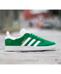 adidas Originals adidas Gazelle Green/ White/ Gold Met
