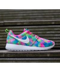 Nike Roshe One Print (GS) Pink Blast/ White-Electric Green