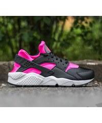 Nike Wmns Air Huarache Run Black/ Pink Blast-White