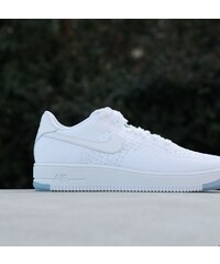 Nike Air Force 1 Ultra Flyknit Low White/ White- Ice