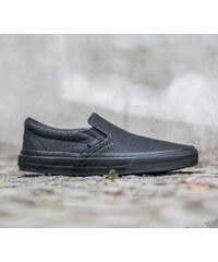 Vans Classic Slip-On + Snake Leather Black