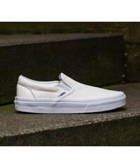 Vans Classic Slip- On (Premium Leather) True White/Mono