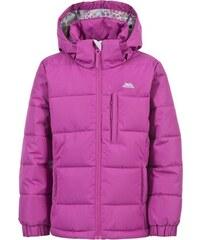 Trespass Dívčí zimní bunda Slushy - fialová