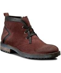 Kotníková obuv LANQIER - 39A702 Cherry/Black