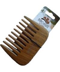 Magnum 308 Dřevěný hřeben Guajak styl Afro