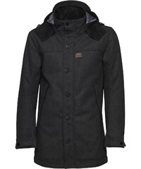 Duck and Cover Herren Heavy Molton Anthracite Jacket Anthracite Marl