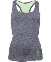 ELLE SPORT Damen Performance Support CoalSea Kiwi Top Grau