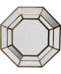 Côté Table Zrcadlo v dřevěném rámu Octogonal 102cm