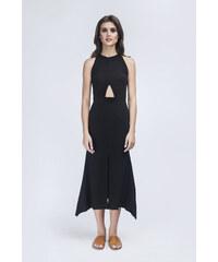 Charina Sarte Robe Longue Noire - Patrice