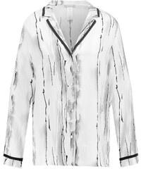 Hanro GIULIA Haut de pyjama white/black