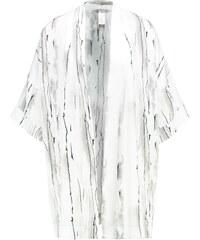 Hanro GIULIA Peignoir white/black