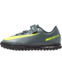 Nike Performance MERCURIAL VRTX 3 TF Chaussures de foot multicrampons seaweed/volt/hasta/white/metallic silver