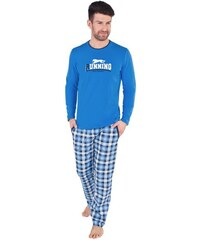 Italian Fashion Alwin dl. r. dl. k. Pánské pyžamo