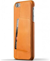 MUJJO Leather Wallet Case 80 for iPhone 6(s) Plus - Tan