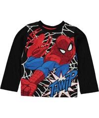 Character Tričko kluk dlouhý rukáv Spiderman