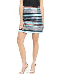 CLOSET Žakárová garnýžová 80´s sukně