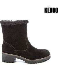 Keddo Boots mit Kunstfellsaum - 36